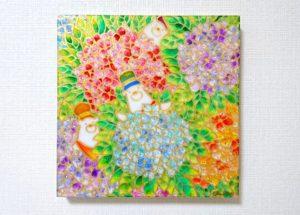 紫陽花の庭