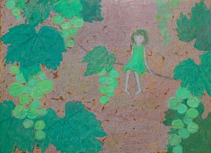 「ぶどう」小林 和枝