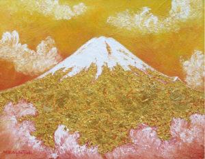 黄金の富士山
